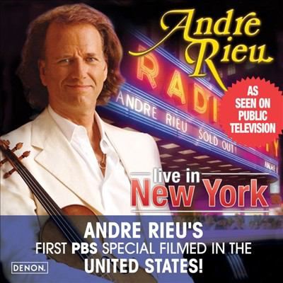 Cover image for Radio City Music Hall live in New York
