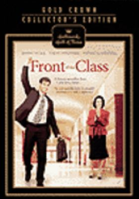 Cover image for Front of the class