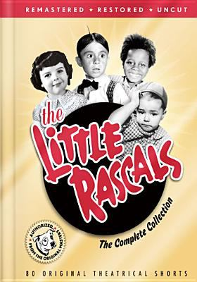 Cover image for The Little Rascals the complete collection.