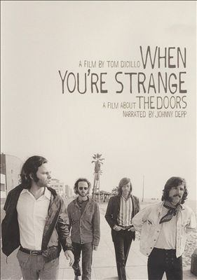 Cover image for When you're strange a film about the Doors