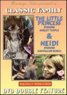 Cover image for The little princess Heidi.