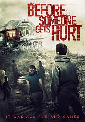 Cover image for Before someone gets hurt