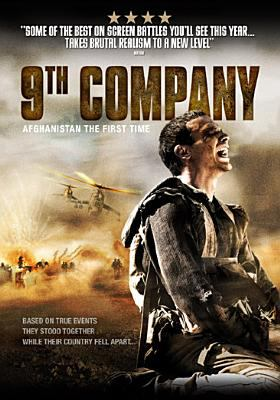Cover image for 9th company 9 rota : Afghanistan the first time