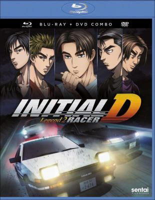 Cover image for Initial D legend 2. Racer