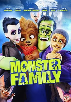 Cover image for Monster family