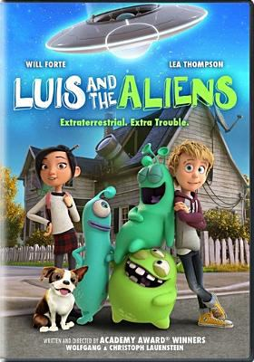 Cover image for Luis and the aliens