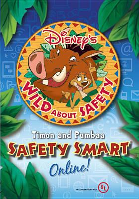 Cover image for Disney's wild about safety. Timon and Pumbaa safety smart online