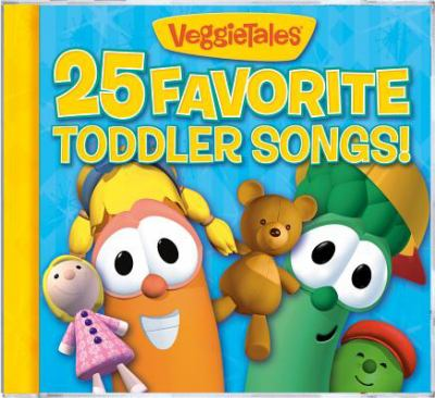Cover image for 25 favorite toddler songs!