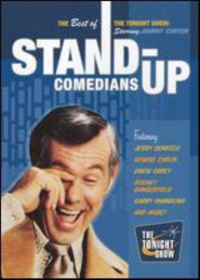 Cover image for The best of The tonight show. Stand up comedians