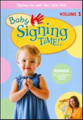 Cover image for Baby signing time!. Vol. 1, It's baby signing time