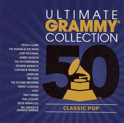 Cover image for Ultimate Grammy collection. Classic pop