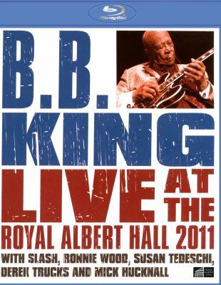 Cover image for B. B. King live at the Royal Albert Hall 2011