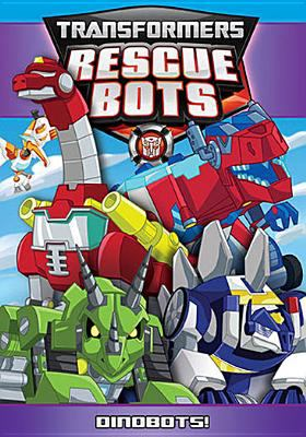 Cover image for Transformers, Rescue bots. Dinobots!