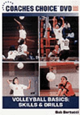 Cover image for Volleyball basics. Skills and drills