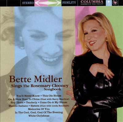 Cover image for Bette Midler sings the Rosemary Clooney songbook