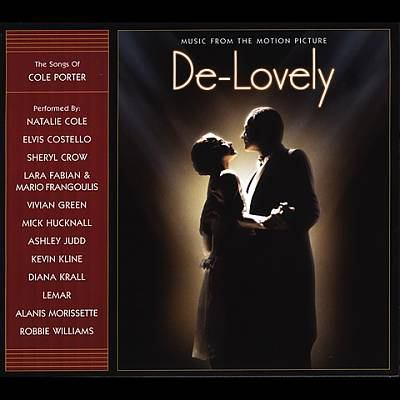Cover image for De-lovely music from the motion picture.