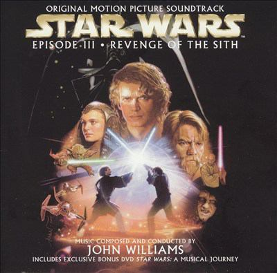 Cover image for Star wars, episode III, Revenge of the Sith original motion picture soundtrack