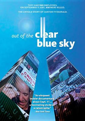 Cover image for Out of the clear blue sky