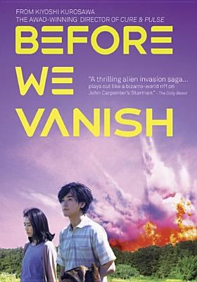 Cover image for Before we vanish