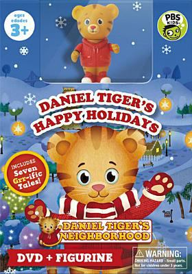 Cover image for Daniel Tiger's neighborhood. Daniel Tiger's happy holidays
