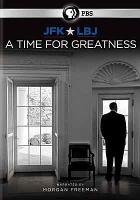 Cover image for JFK & LBJ : a time for greatness