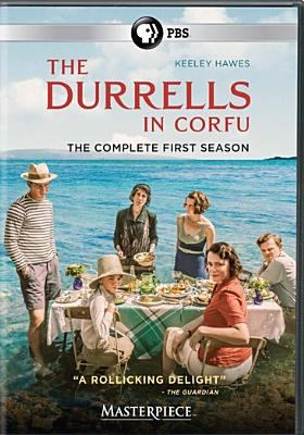 Cover image for The Durrells in Corfu. The complete first season.