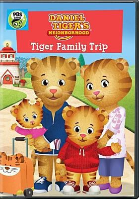 Cover image for Daniel Tiger's neighborhood. Tiger family trip.