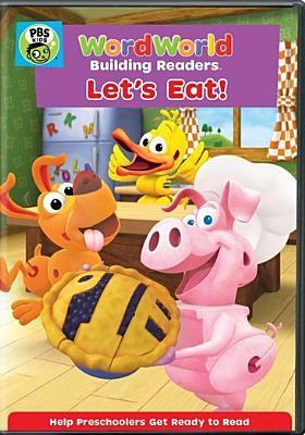 Cover image for WordWorld. Let's eat.