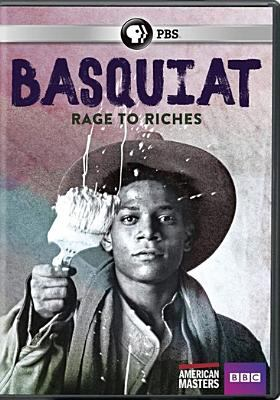 Cover image for Basquiat : rage to riches