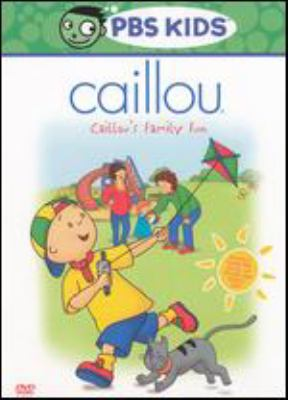 Cover image for Caillou. Caillou's family fun