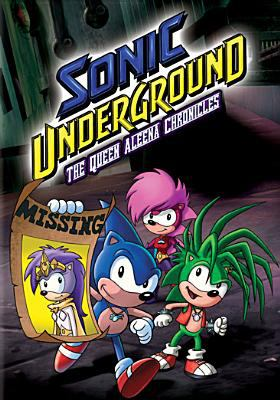Cover image for Sonic underground. The Queen Aleena chronicles