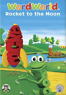 Cover image for Wordworld. Rocket to the moon
