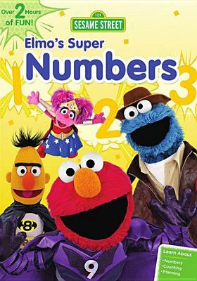 Cover image for Elmo's super numbers