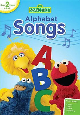 Cover image for Sesame Street. Alphabet songs