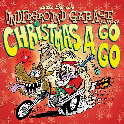 Cover image for Christmas a go-go