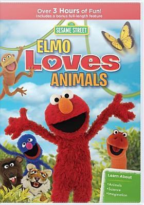 Cover image for Sesame Street. Elmo loves animals