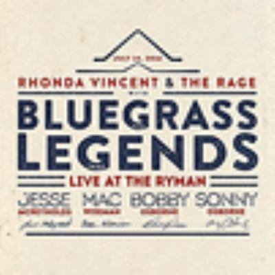 Cover image for Rhonda Vincent & the Rage live at the Ryman : with Bluegrass legends.