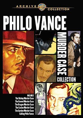 Cover image for Philo Vance murder case collection