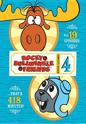 Cover image for Rocky & Bullwinkle & friends. Complete season 4