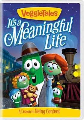 Cover image for Veggie tales. It's a meaningful life