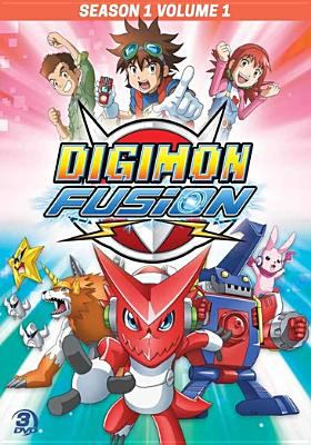 Cover image for Digimon fusion. Season one, volume one