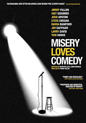 Cover image for Misery loves comedy