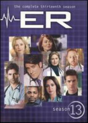 Cover image for ER. The complete thirteenth season