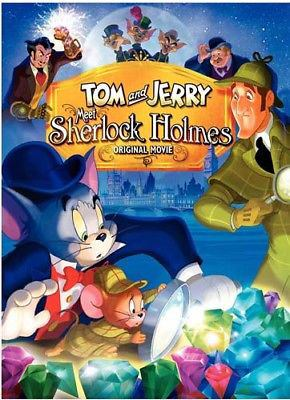 Cover image for Tom and Jerry meet Sherlock Holmes original movie