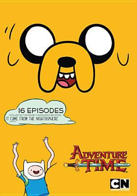 Cover image for Adventure time. It came from the nightosphere