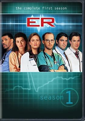 Cover image for ER. The complete first season