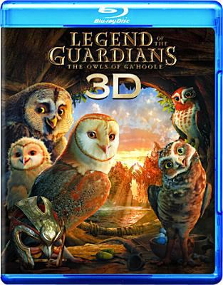 Cover image for Legend of the Guardians [3D] : the owls of Ga'Hoole