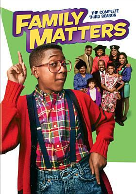 Cover image for Family matters. The complete third season