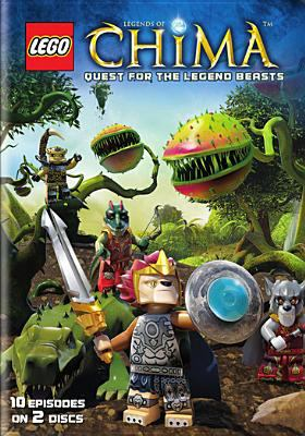 Cover image for Legends of Chima. Season 2 part 1, Quest for the legend beasts