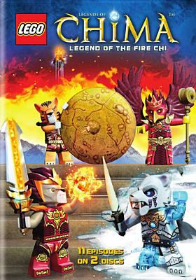 Cover image for Legends of Chima. Season two, part two, Legend of the fire CHI.